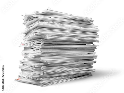 Fototapeta Stack of Magazines / Notebooks obraz