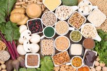 Iron In Vegan Diet. Food Sources Of Vegan Iron