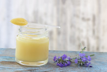 Organic Royal Jelly In A Glass...