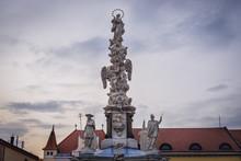 Marian Plague Column On One Of...
