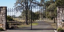 Metal Driveway Rural Property ...