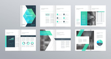 Template Layout Design With Co...