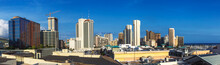 Panoramic View Of Honolulu Dow...
