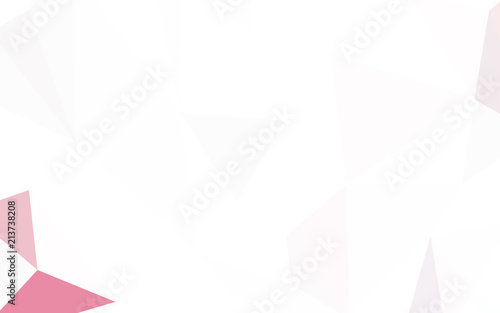 Fototapety, obrazy: Light Yellow vector abstract polygonal background.