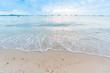 Beautiful nature sea summer background,Sand beach