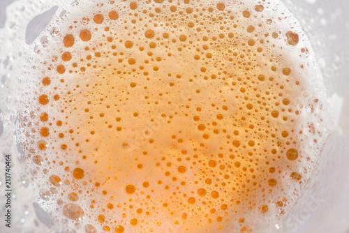 Photo  IPA Craft Beer bubbles texture
