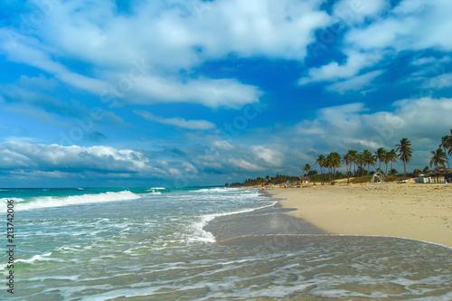 Papiers peints Piscine Santa Maria Del Mar beach. Havana. Cuba.