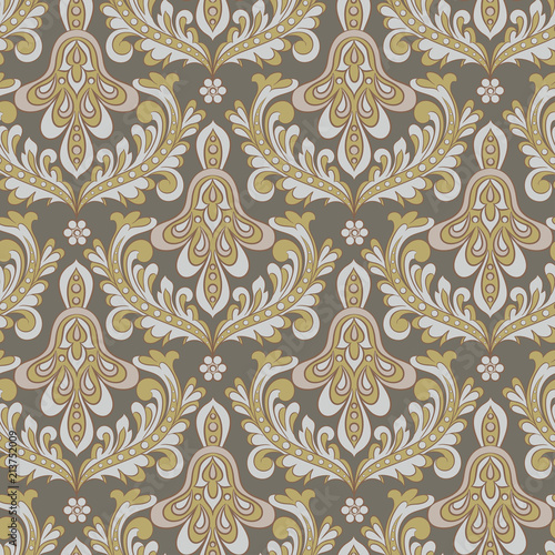 Foto op Aluminium Kunstmatig Seamless vintage background. Vector background for textile design