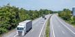 Panorama Autobahn Logistik