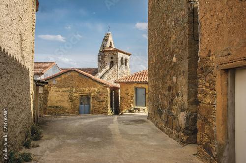 Church of San Salvador in Ayoo de Vidriales in Zamora (Spain)