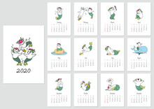 Monthly Calendar 2020 Template...