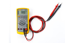 Yellow Digital Multimeter With...