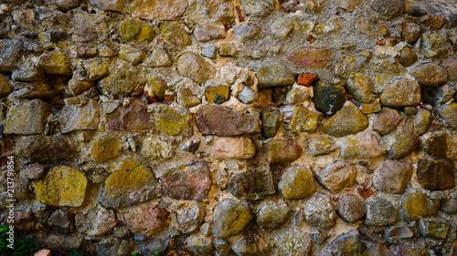 In de dag Stenen Background of stone wall texture