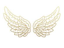 A Pair Of Angel Wings, Wide Op...