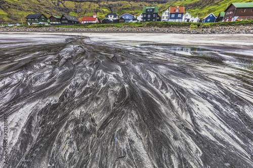 Keuken foto achterwand Europa Tjornuvik village,Streymoy, faroe island