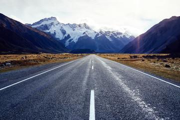 New Zealand mountains scenery