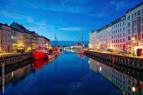 Nyhavn - Kopenhagen - Dänemark Poster