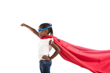 Child Acts Like A Superhero To...