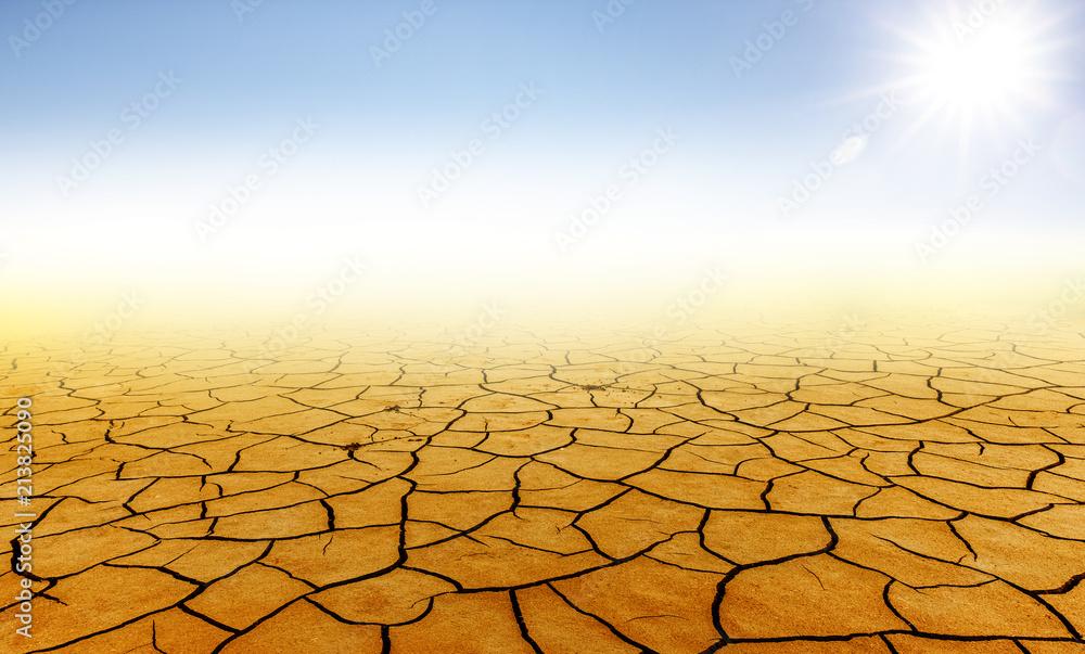 Trockene Wüste