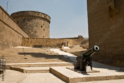 Fotografie, Tablou Watchtower of Saladin Citadel in Cairo
