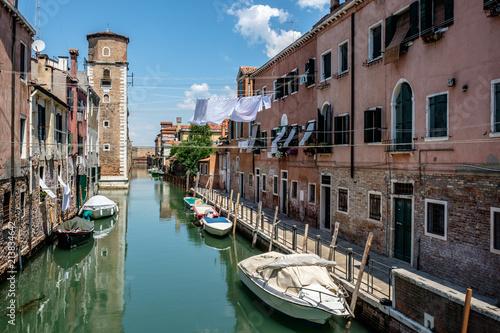 Deurstickers Brugge Venezia, paesaggio urbano