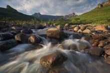 Tugela River At Sunrise