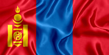 Flag Mongolia Silk