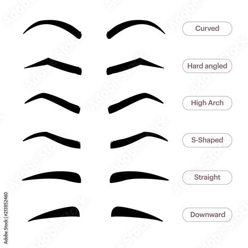 Fotografia Eyebrow shapes