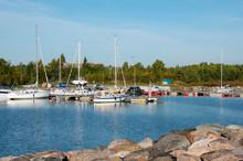 Marina, Hiiumaa Island, Estonia