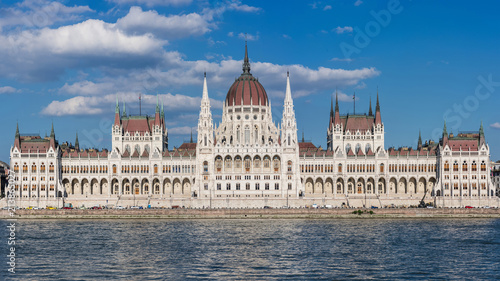 Deurstickers Boedapest Budapest – Parlamentsgebäude