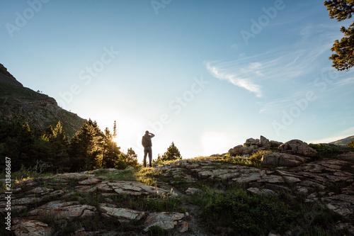 Fotografia, Obraz  Taking It In | Glacier National Park