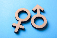 Gender Symbols Of Man And Woma...