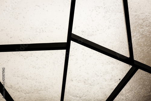 Aluminum Metal Frame Glass Curtain Wall Window Roof Construction Details Exterior Design Rain Drops Buy This Stock Photo And Explore Similar Images At Adobe Stock Adobe Stock