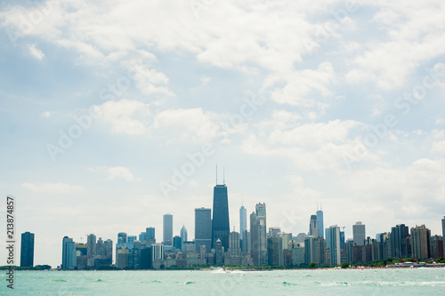 Foto op Plexiglas Chicago Chicago from the water