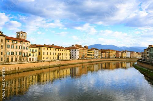 Fototapety, obrazy: Pisa day view, Tuscany, Italy