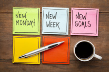 New Monday, Week And Goals