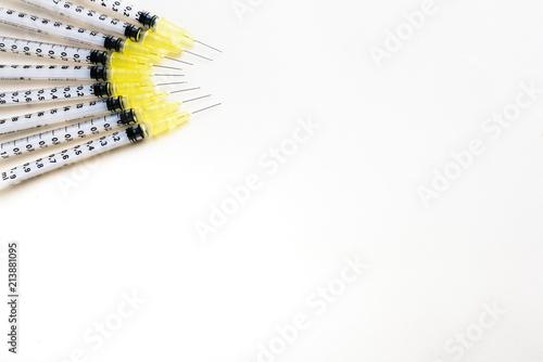 Vászonkép  Fine syringes for use in medicine