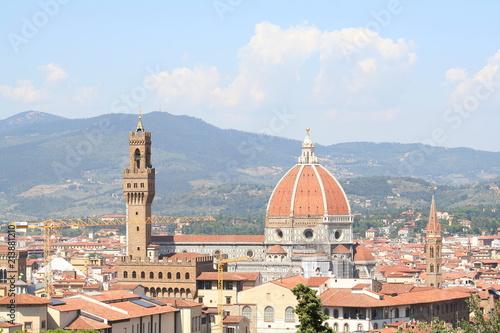 Veduta Di Firenze Dalla Terrazza Michelangelo Firenza