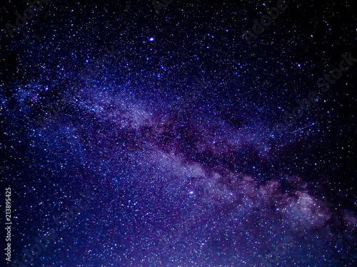 Foto op Aluminium Heelal 夏の夜の天の川(オレゴン州)