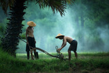 Rolnicy przygotowują narzędzia dla rolników w Tajlandii. - 213900029
