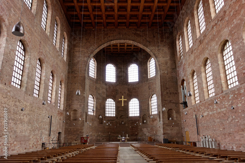 The Basilica of Constantine or Aula Palatina, in Trier, Germany Canvas