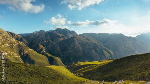 Obraz na płótnie Beautiful Jonkershoek nature reserve