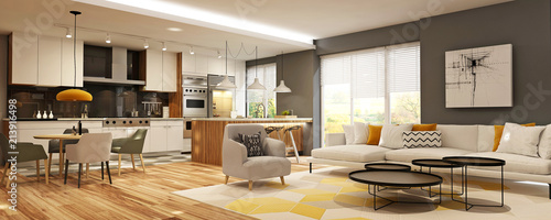 Obraz Modern house interior