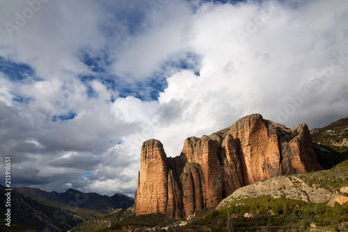 Valokuva Riglos Mountains in Spain