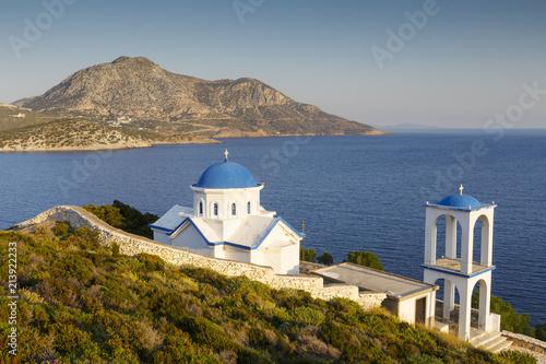 Foto op Canvas Mediterraans Europa Fourni Island.