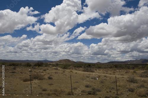 Foto op Plexiglas Donkergrijs Karoo landscape