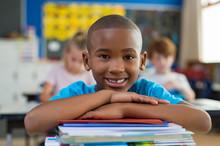 Proud African School Boy