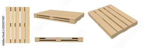 Fotografía 3D image of pallets