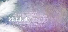 Manifest Abundance Word Cloud ...