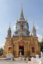 Thailand, Chiang Mai Province, Doi Inthanon, Wat NamTok Mae Klang
